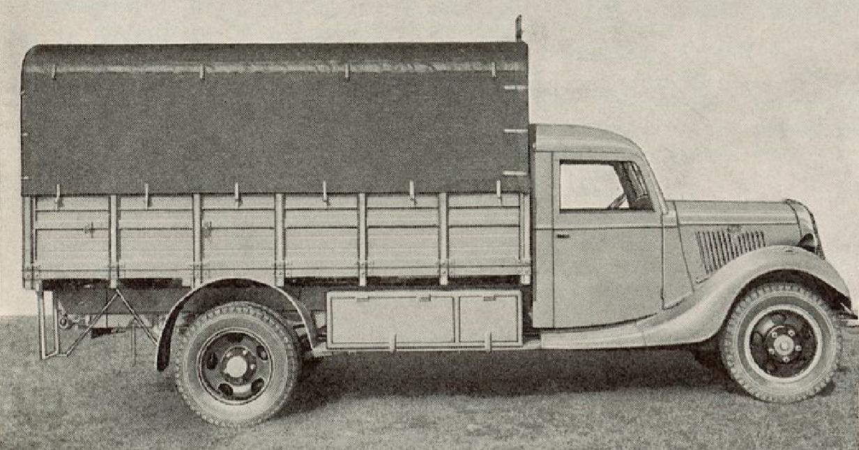 Camion léger Matford V8 F-817 T