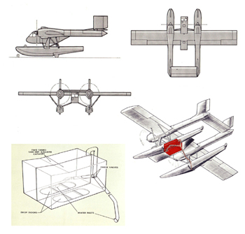 Canadair CL-204 version amphibie