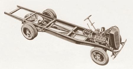Châssis Matford V8.81