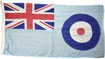 Drapeau de la division Marine Craft Section de la Royal Air Force.