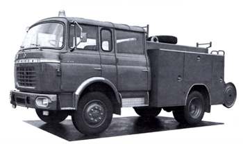 Fourgon-pompe tonne Berliet GAK 20 H2