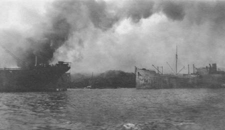 Explosion de Halifax. La collision des deux cargos