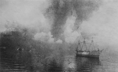 L'explosion d'Halifax en décembre 1917