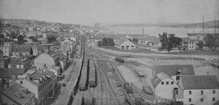 Halifax vers 1900