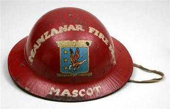 <h2>Le casque de la mascotte du service incendie !</h2>
