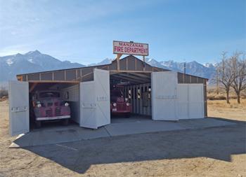 <h2>Centre d'intervention incendie de Manzanar</h2>