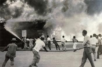L'incendie de juillet 1944