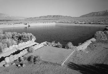 Réservoir d'alimentation en eau du camp de Manzanar