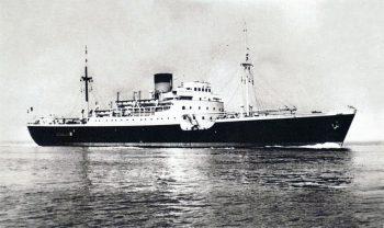 Le paquebot mixte Sidi Feruch de la SGTM
