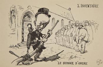 Caricature du préfet Lépine