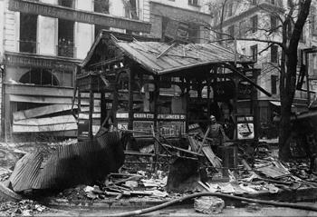 Bombardement à Paris en avril 1918