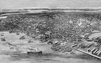 Seattle en 1899