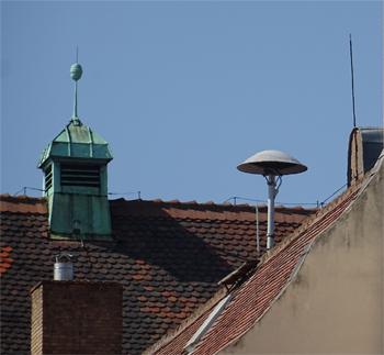 <h2>Sirène d'alerte aux populations à Colmar (Haut-Rhin)</h2>