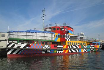 Le ferry britannique Snowdrow à Birkenhead