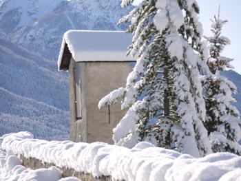 <h2>Le tocsin sur le chemin de ronde de Briançon (Hautes-Alpes)</h2>