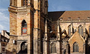 <h2>Tour de la Collégiale Saint-Martin à Colmar (Haut-Rhin)</h2>