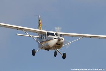 <h2>Avion de reconnaissance/liaison/commandement Gippland GA8-TC320 Airvan</h2>