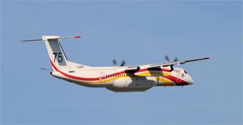 <h2>Avion bombardier d'eau DHC-8-Q400 MR Milan 75</h2>