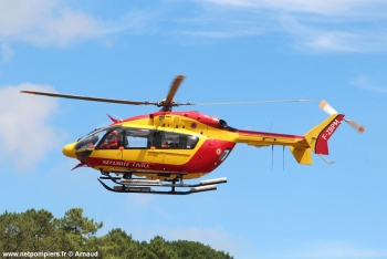 <h2>Hélicoptère Eurocopter EC145 F-ZBPM</h2>
