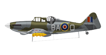 Boulton Paul Defiant dans sa version ASR (Air Sea Rescue)