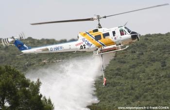 #49 - Equipé d'un kit HBE Fire-Attack de 1 400 litres. L'appareil est loué par AVDEF au Service départemental incendie secours du Var (SDIS 83) Photographie Frank COHEN - 2007