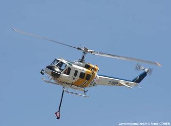 #47 - Equipé d'un kit HBE Fire-Attack de 1 400 litres. L'appareil est loué par AVDEF au Service départemental incendie secours du Var (SDIS 83) Photographie Frank COHEN - 2007