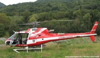 <h2>Hélicoptère AS-350B Ecureuil </h2>