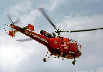 <h2>Hélicoptère SA316 Alouette III</h2>