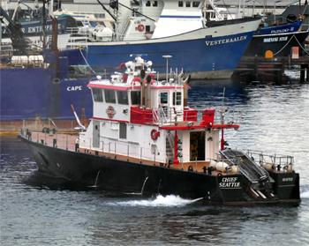<h2>Bateau-pompe Chief Seattle - Seattle - États-Unis</h2>