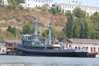 <h2>Bateau-pompe PZhS-123 - Sébastopol - Russie</h2>