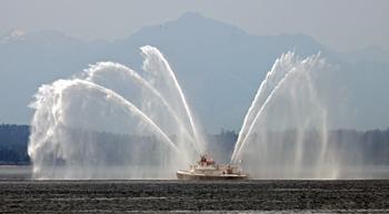 <h2>Bateau-pompe Leschi - Seattle - États-Unis</h2>