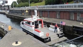 <h2>Bateau-pompe Fireboat 1 - Seattle - États-Unis</h2>