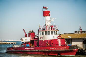 <h2>Bateau-pompe Fireboat 2 (Guardian) - San Francisco - États-Unis</h2>