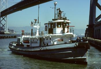 Le bateau-pompe City of Oakland