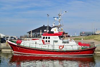 <h2>Vedette de sauvetage en mer Émile Robin - Hvide Sande - Danemark</h2>