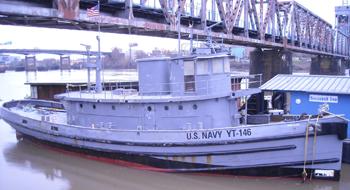 #279 - Remorqueur de l'US Navy de 1941 à 1948 puis bateau-pompe du port d'Oakland de 1948 à 1993. Exposé aujourd'hui à l'Arkansas Inland Maritime Museum à North Little Rock (US, Arkansas). Photographie Ken HARPER - 2015