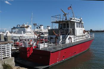 <h2>Bateau-pompe Sea-wolf - Oakland - États-Unis</h2>
