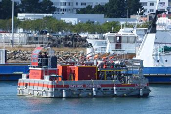 <h2>Barge anti-incendie Lestr-an-Tan - Lorient - France</h2>