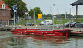 #415 - Bateau-pompe service à Amsterdam mis en service en 2017. Long de 17.6 mètres. Capacité hydraulique de 28 000 l/min. Photographie Danny REIJNE - 2019