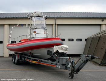 <h2>Bateau polyvalent de secours/assistance Echo 1 - Sécurité civile (UIISC 1) - France</h2>