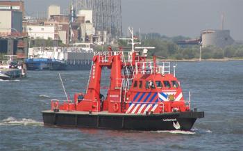 Bateau-pompe Gelderland de Nimègue, Pays-Bas.