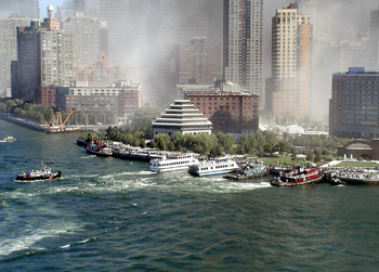 l'Attentat du 11 septembre 2001 à New York