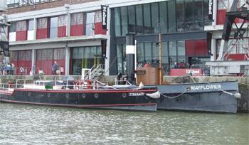 #515 - En service à Bristol de 1934 à 1973. Long de 17 mètres, capacité hydraulique de 5 000 l/min. Il est aujourd'hui conservé au Bristol Industrial Museum de Bristol aux côtés du remorqueur à vapeur Mayflower. Photographie Malcolm CRANFIELD - 2015