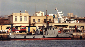 <h2>Bateau-pompe Pytheas - Marseille - France</h2>