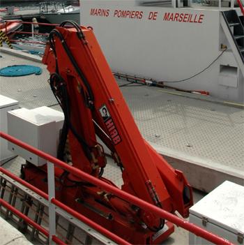 <h2>Barge anti-incendie Pythéas II - Marseille - France</h2>
