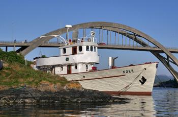 Le bateau-pompe Nokk de Stavanger, Norvège