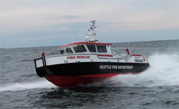 <h2>Bateau-pompe Fireboat 2 - Seattle - États-Unis</h2>