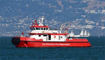 <h2>Bateau-pompe Fireboat 3 (St-Francis) - San Francisco - États-Unis</h2>