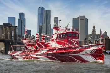 Le bateau-pompe et son nouveau design Flow separation
