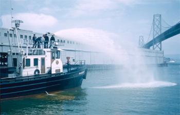 <h2>Bateau-pompe Fireboat 1 (Phoenix) - San Francisco - États-Unis</h2>